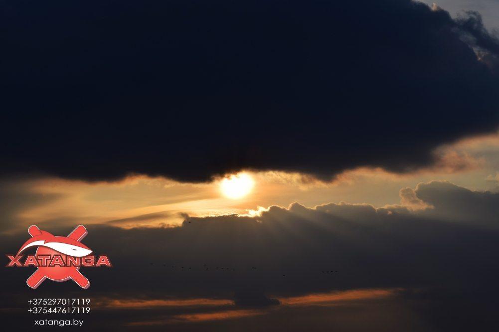 Солнце над Западной Двиной