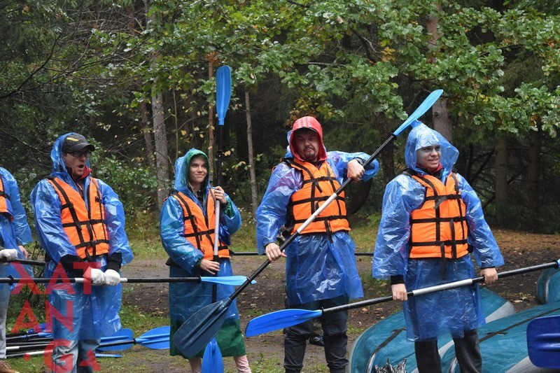 Водный сплав для ребят из Wargaming