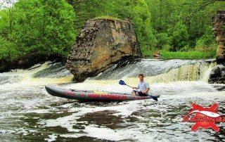 Водный поход по реке Страча
